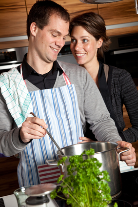 Cooking together