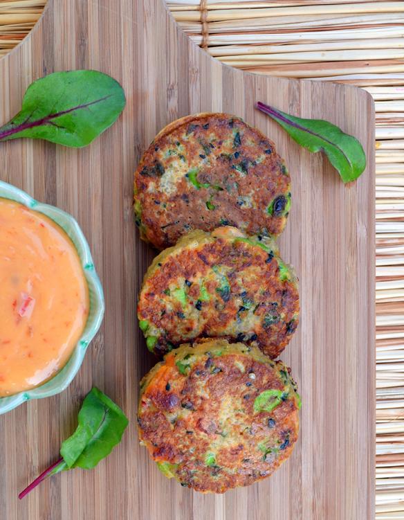 Sweet potato, quinoa and salmon cakes   The EatSmart Blog