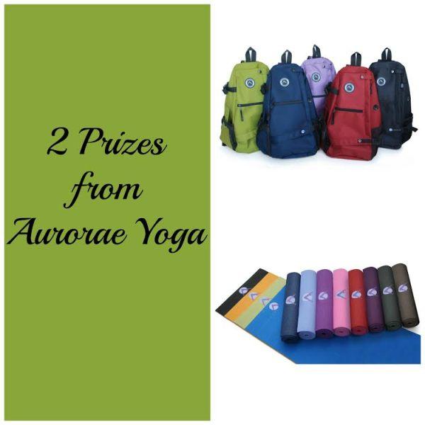 aurorae yoga giveaway