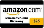 amazon gift card $25 summer grilling