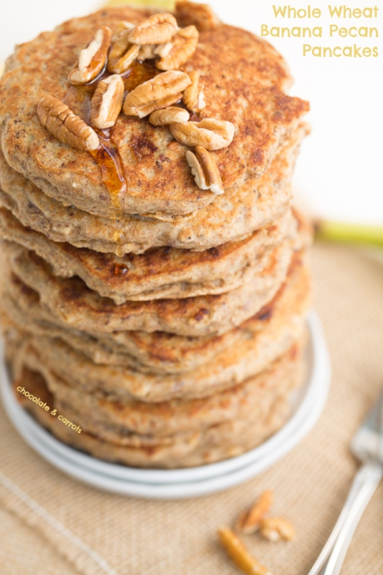 Whole-Wheat-Banana-Pecan-Pancakes-chocolateandcarrots.com_