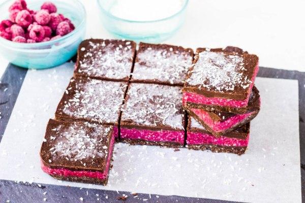 2-raspberry slice