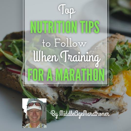 Marathon Nutrition Tips