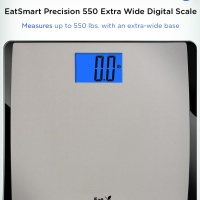 Introducing the EatSmart Precision 550 Bathroom Scale