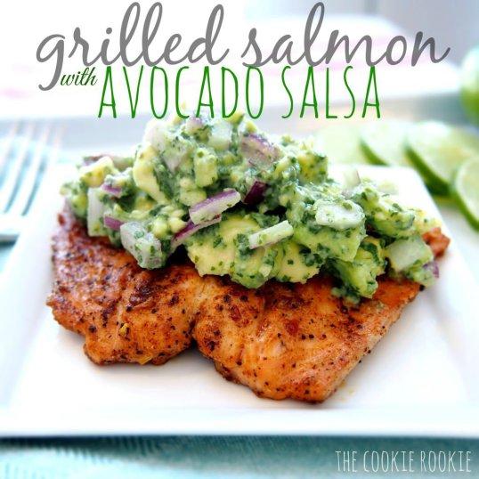 Grilled Salmon with Avocado Salsa | The EatSmart Blog