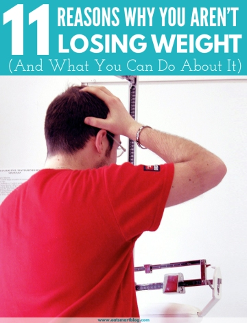 reasons why you're not losing weight