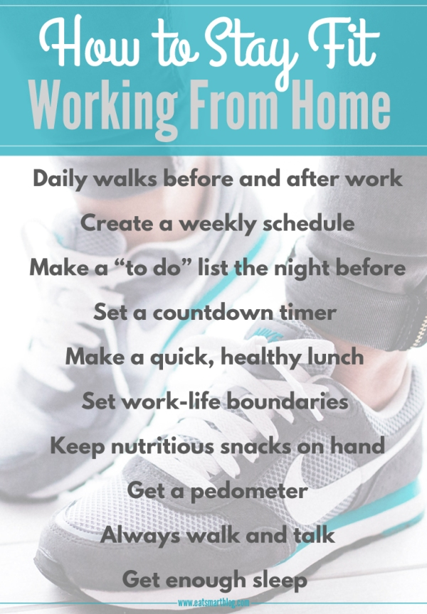 how to stay fit from home
