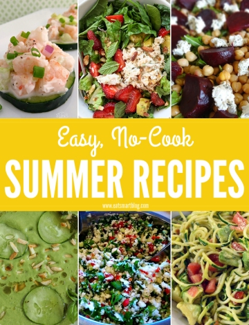 easy_no_cook_summer_recipes_pinterest