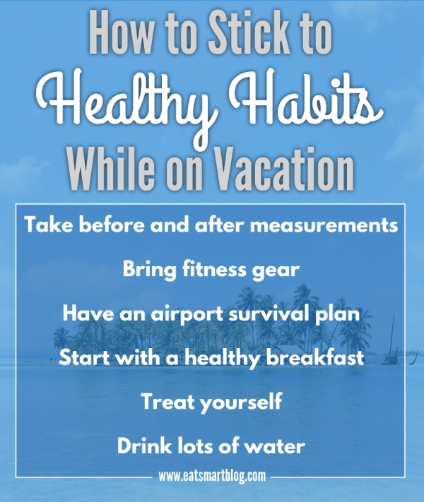 healthy habits while on vacation