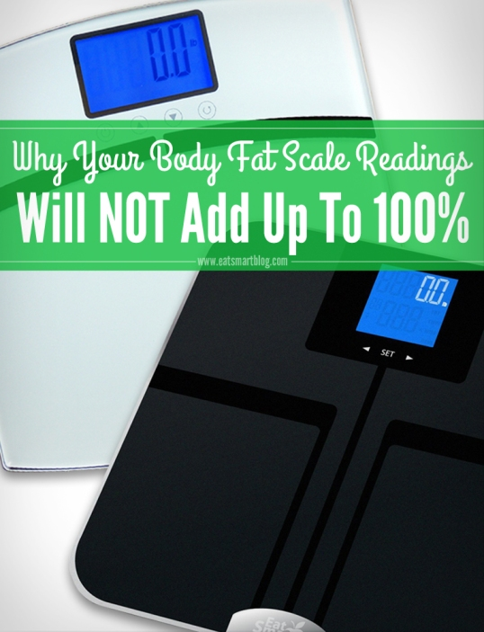 Why Your Body Fat Scale Readings Will Not Add Up To 100%