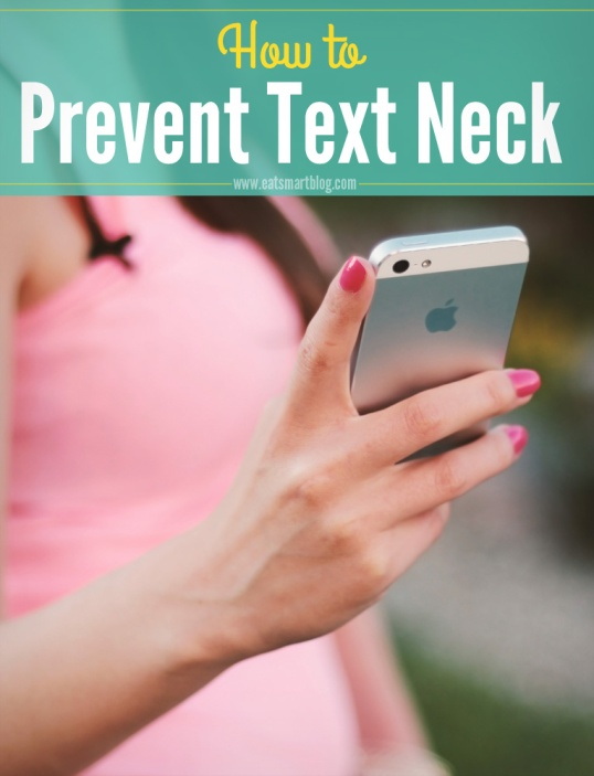 how to prevent text neck