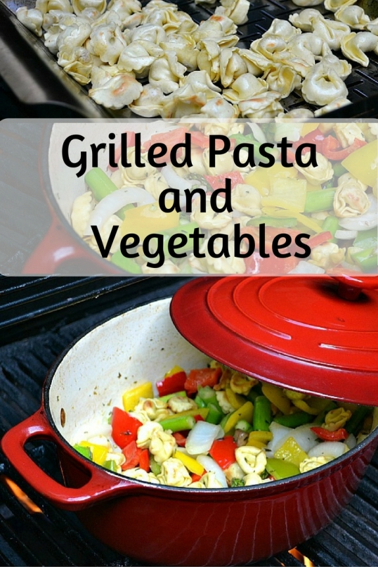 Grilled Pasta And Vegetables