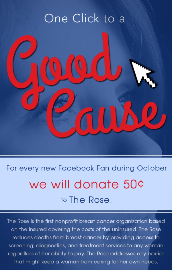 charity of the month - october - the rose