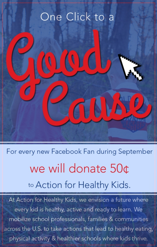 charity of the month - action for healthy kids