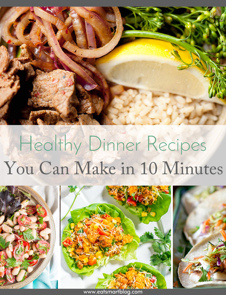 healthy 10 minute dinners