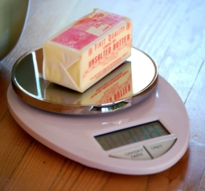 scale butter