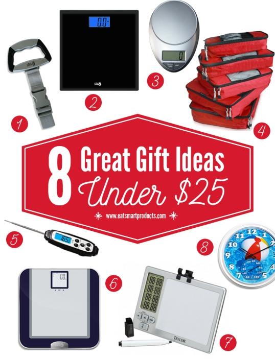 8 gerat gifts under $25 list