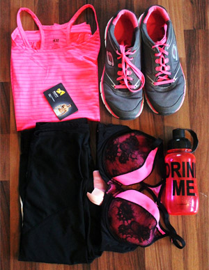 workout clothes