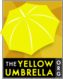 the yellow umbrella organization logo