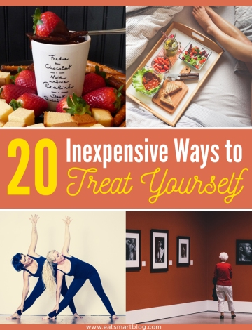 20 inexpensive ways to treat yourself