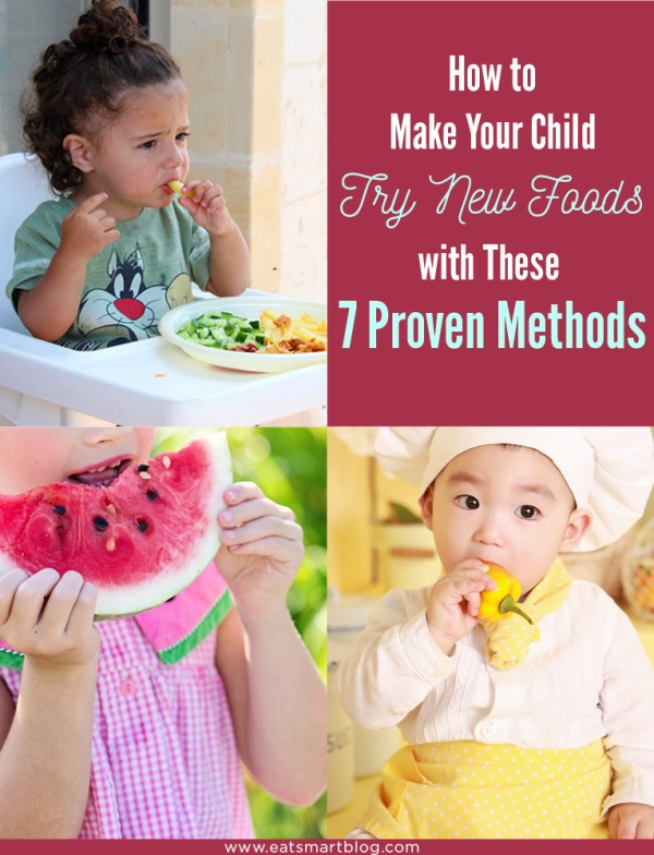 get kids to eat new food