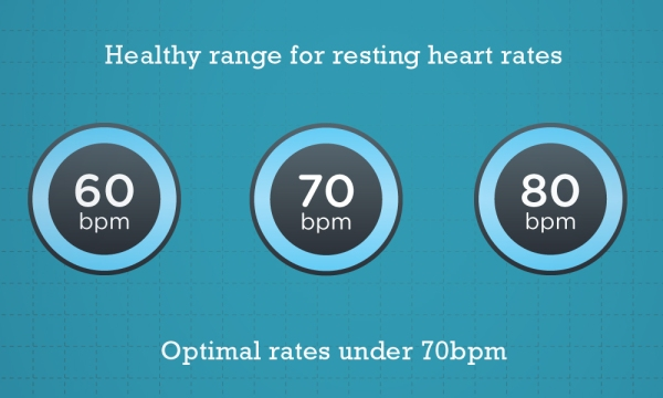 healthy heart rates