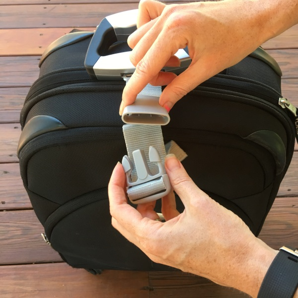 EatSmart Precision Voyager Digital Luggage Scale Buckle