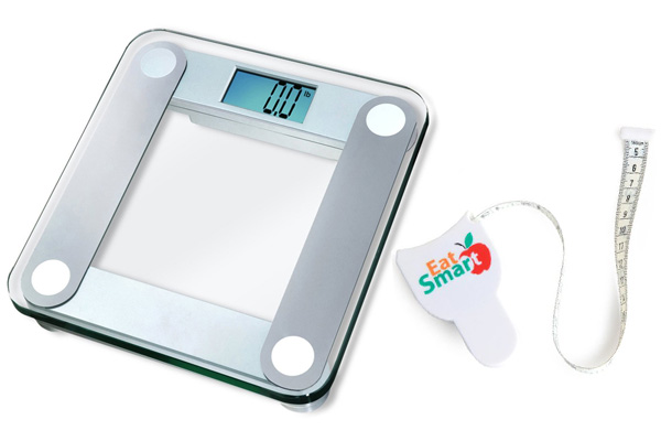 eatsmart products precision scale and measuring tape