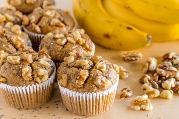 Banana Walnut Chia Muffins_1