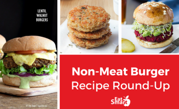 Non-Meat Veggie Burger Recipe Round-Up