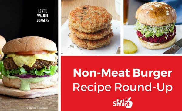 Non-Meat Veggie Burger Recipe Round-Up
