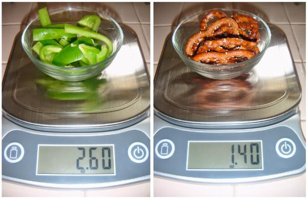 EatSmart Precision Elite Kitchen Scale DIY Snack Baggies