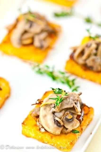 Mushroom-Thyme-Caramelised-Onion-Polenta-Bites