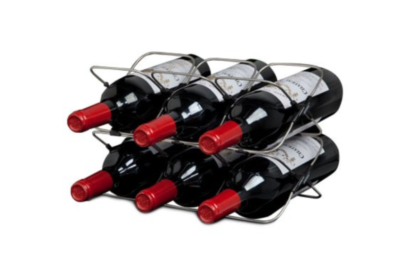 SPACE SAVING WINE RACK