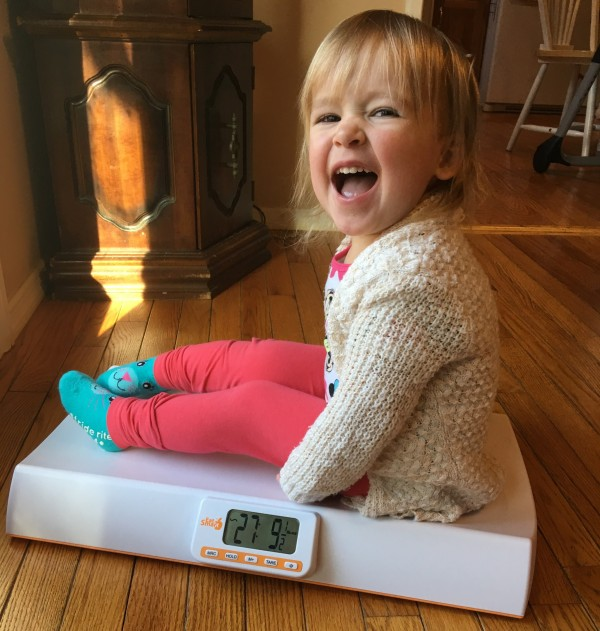 Introducing the EatSmart Precision Baby Check Scale-toddler
