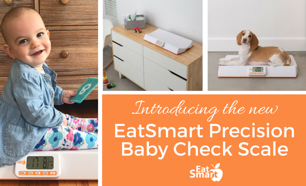 Introducing the EatSmart Precision Baby Check Scale