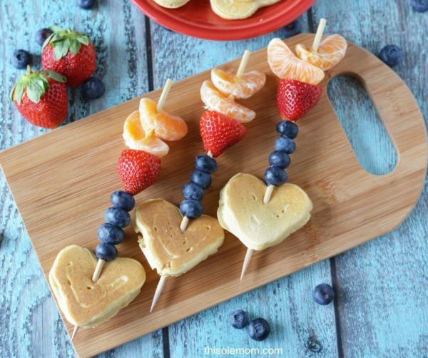 Valentine-Cupid-Arrow-Pancake-Fruit-Kabob