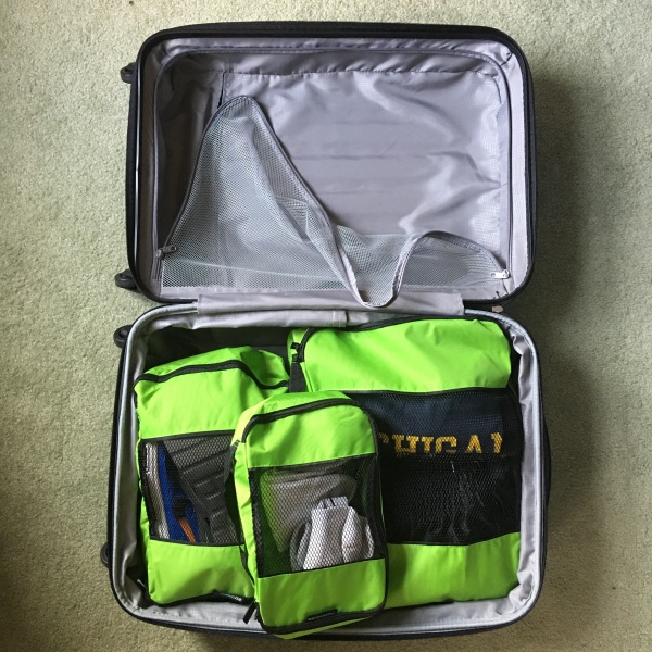 TravelWise 5-Piece Packing Cube Set -green